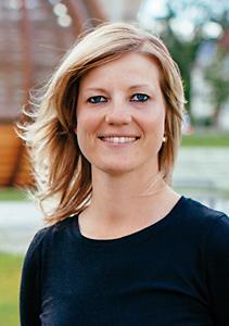 Physiotherapeutin Caroline Dalinger
