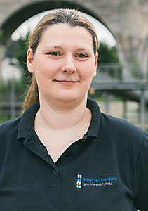 Physiotherapeutin Julia Flemming
